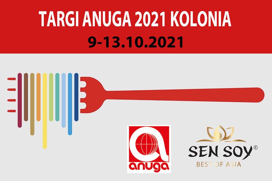 Główna grafika wydarzenia: SEN SOY NA TARGACH ANUGA 2021 W KOLONII